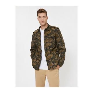 Koton Camouflage Patterned Coat dámské Other M