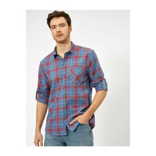 Koton Checkered Shirt pánské S