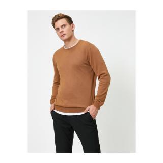 Koton Cotton Crew Neck Knitwear Sweater pánské Other L