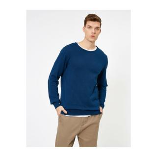 Koton Crew Neck Knitwear Sweater pánské Other S