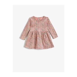 Koton Floral Pattern Dress Long Sleeve Cotton dámské Other 12-18 M