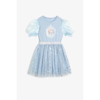 Koton Girls Frozen Printed Dress dámské BLUE 7-8 Y