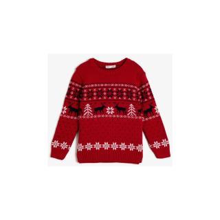 Koton Kids Red Sweater pánské Other 3-4 Y