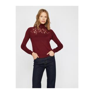 Koton Lace Detailed Knitwear Sweater dámské Other S