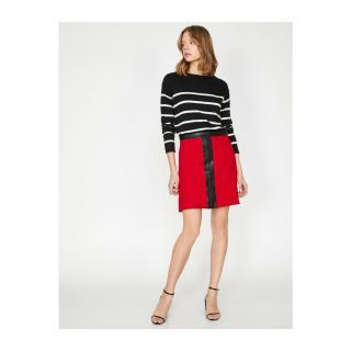 Koton Leather Detailed Skirt dámské Other 34