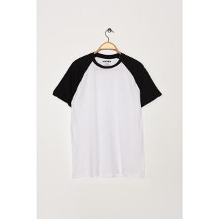 Koton Man White T-Shirt pánské White 000 XL