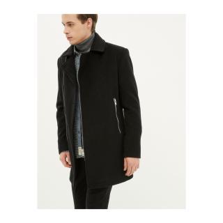Koton Mens Black Coat pánské Other S