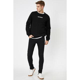 Koton Mens Black Trousers Bsc pánské Other 36/30