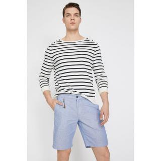 Koton Mens Blue Shorts Mavi 38
