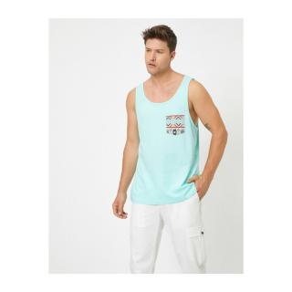 Koton Mens Blue Undershirt pánské XS