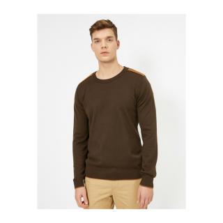 Koton Mens Crew Neck Long Sleeve Sweater pánské Other XL