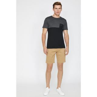 Koton Mens Ecru Normal Waist Pocket Detail Shorts Ekru 40