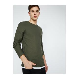 Koton Mens Green Sweater pánské Other M