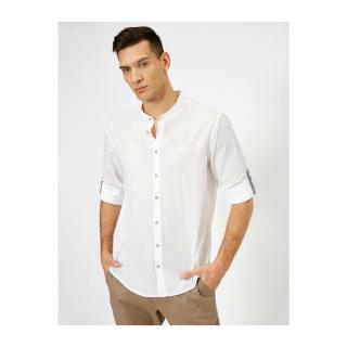 Koton Mens White Shirt pánské White 000 M