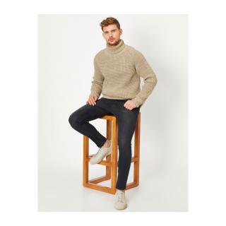 Koton Michael Skinny Fit Jeans pánské Black 999 31/32