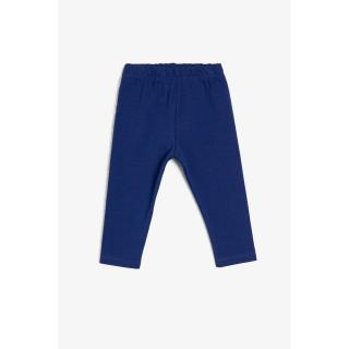 Koton Navy Blue Baby Girl Tights dámské 3-6 AY