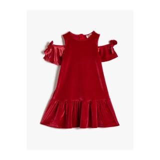 Koton Off-Shoulder Dress With Ruffles dámské Other 9-10 years