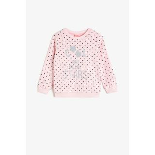 Koton Pink Baby Sweatshirt dámské Other 24-32 M