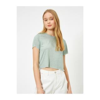 Koton Plain T-shirt dámské Other M