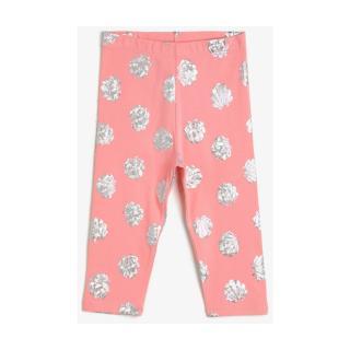 Koton Printed Tights dámské Pink 3-4 Y