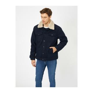 Koton Side Faux Fur Coat pánské Other M
