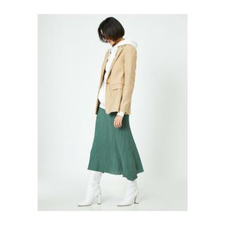 Koton Skirtly Yours Styled By Melis Agazat - Patterned Skirt dámské Green S