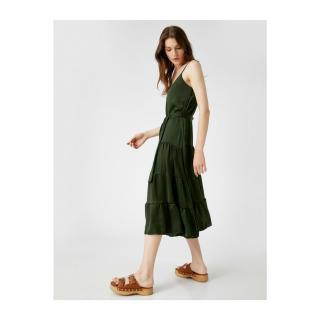 Koton Suspended Dress With Belt dámské Other 38
