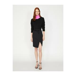 Koton Tie Waist Skirt dámské Black 999 36