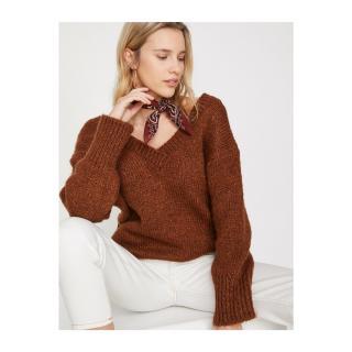 Koton V Neck Knitwear Sweater dámské Other S