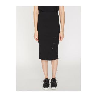 Koton Women Black Button Detailed Skirt dámské Black 999 L