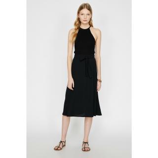 Koton Women Black Waist Baggy Skirt dámské Black 999 36