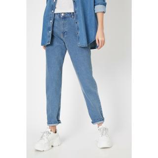 Koton Women Blue Trousers dámské 32/32
