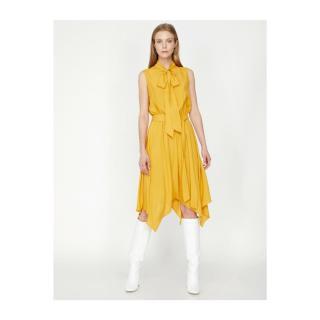Koton Women Yellow Dress dámské 42