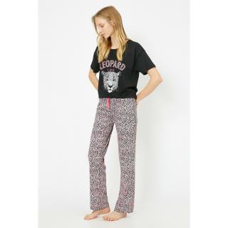 Koton Womens Black Pajamas Set dámské Other L