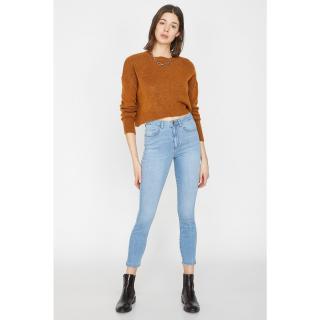 Koton Womens Blue Jeans dámské 31/32