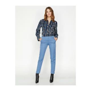 Koton Womens Blue Pants dámské Other 38