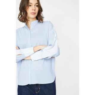 Koton Womens Blue Shirt dámské 42