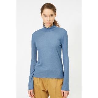 Koton Womens Blue T-Shirt dámské Other L
