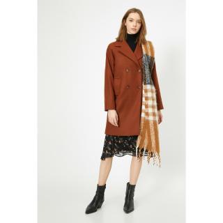 Koton Womens Brown Coat dámské Other 38