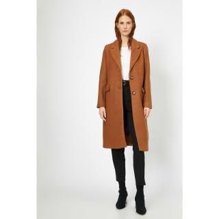 Koton Womens Brown Coat dámské Other 42
