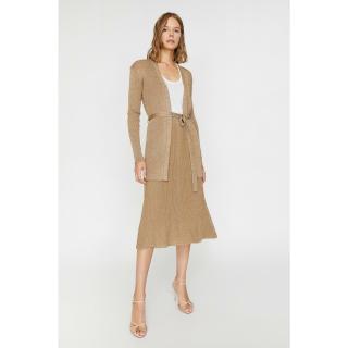 Koton Womens Glitter Detailed Knitwear Skirt dámské Other M