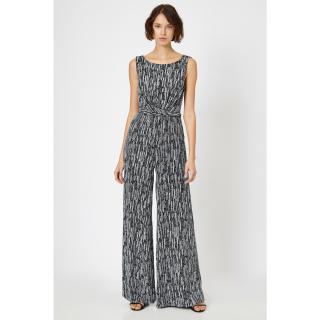 Koton Womens Gray Jumpsuits dámské Other XL