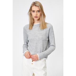 Koton Womens Gray Sweater dámské Other S