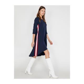 Koton Womens Navy Blue Dress dámské Other 36