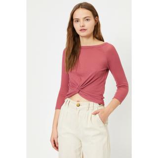 Koton Womens Pink T-Shirt dámské Other M