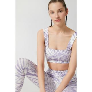 Koton Womens Purple Batik Patterned Bra dámské Other XL