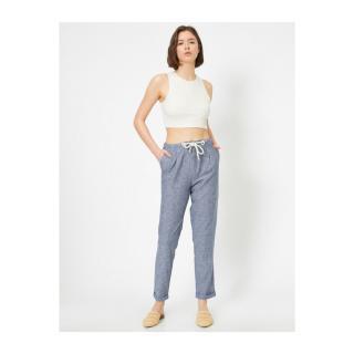 Koton Womens Trousers dámské Blue 38