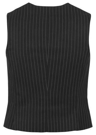 Krátka vesta dámské čierna 34,36,38,40,42,44,46,48,50
