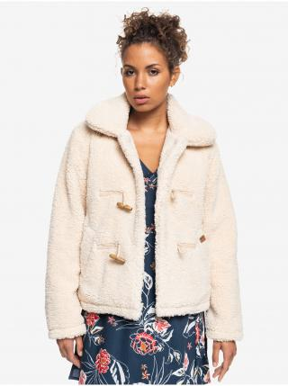 Krémová bunda s límcom Roxy dámské M
