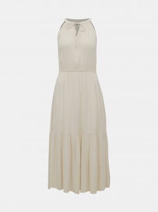Krémové šaty Jacqueline de Yong Lima dámské krémová L
